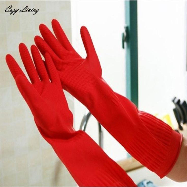 Household Gloves 1 Pairs Rubber Latex Dish Washing Cleaning Long Gloves Household Kitchen Gloves Non-Slip Wholesale JA5. Yesterday's price: US $3.77 (3.12 EUR). Today's price: US $2.98 (2.45 EUR). Discount: 21%.