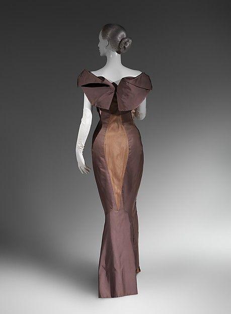 Evening dress Designer: Charles James (American, born Great Britain, 1906–1978) Date: ca. 1960 Culture: American Medium: silk