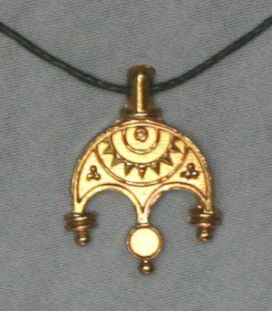 Bird Tribe winged amulet Древнерусские украшения