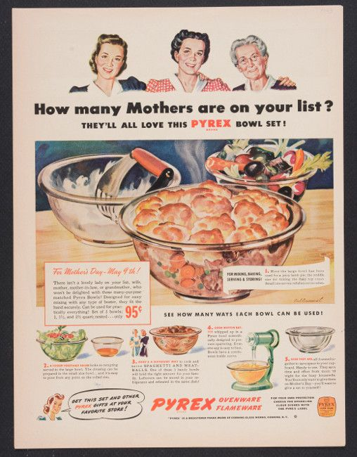 45 Best Images About Vintage Pyrex Ads On Pinterest