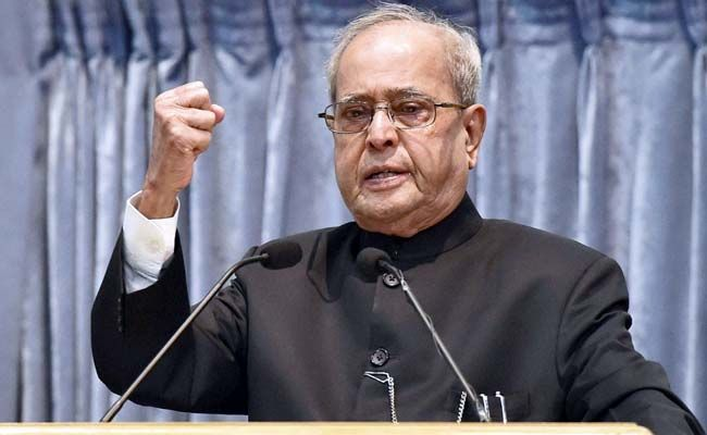 """Former President Pranab Mukherjee on Sunday called on Indian academic institutions to lay emphasis on quality research work to earn global recognition and build """"an educational eco-system comparable with the best in world"""". """"There has to be sincere deliberations on various forms towards an educational eco-system comparable with the best in world and the higher … Continue reading """"Build An Educational Ecosystem Comparable With The Best: Pranab Mukherjee"""""""