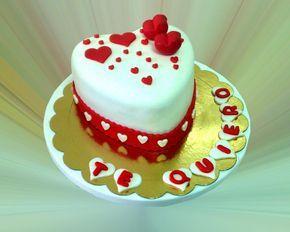 Tarta San Valentín 1