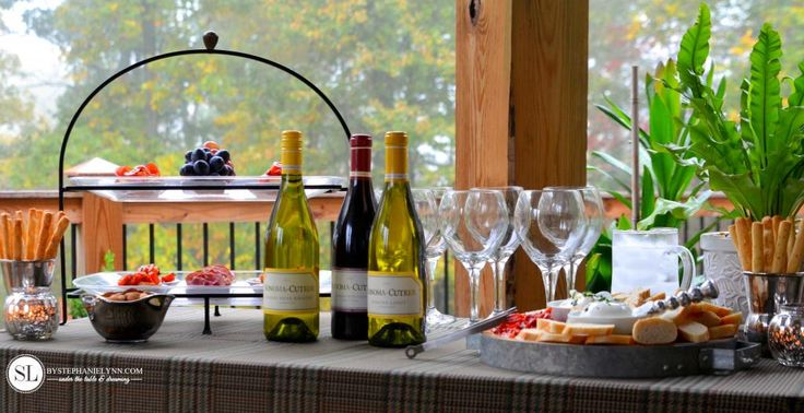 Setting Up a Wine Tasting Party via bystephanielynn.com | An Affair to Remember | Mommy Methodology