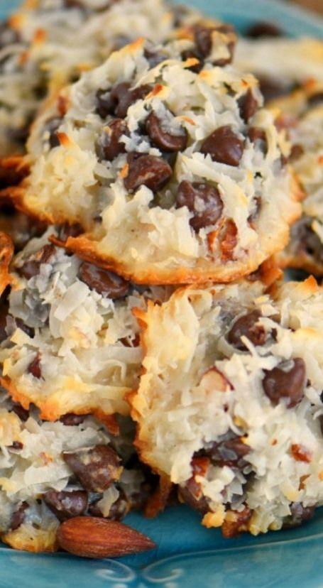 Almond Joy Cookies - Just 4 Ingredients!