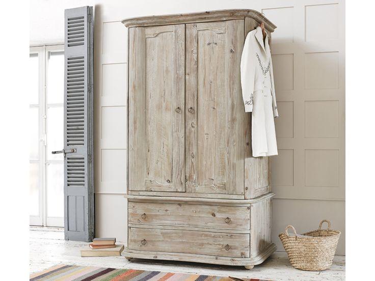 Lourdes wooden wardrobe