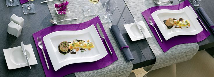 NewWave Modern Square Dinnerware – Villeroy & Boch