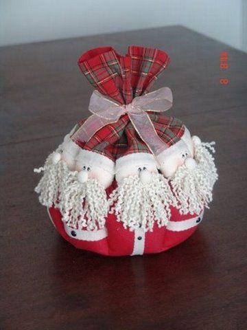 Divertidas de Navidad: manualidades en fieltro