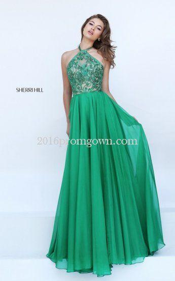 Emerald Green Prom Dresses Sherri Hill - Missy Dress