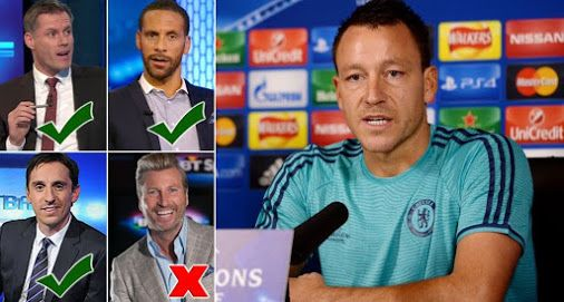 John Terry hits out at pundit Robbie Savage: 'I'll take criticism from Ferdinand Neville and Car