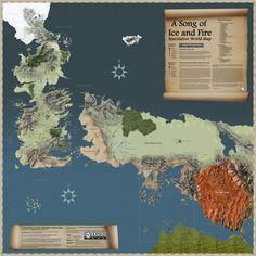 A continuación, los mapas de los mundos fantásticos más fantásticos: (para ver las imágenes en su tamaño normal, haced clic derecho sobre la imagen y luego pulsar Ver Imagen): ARDA (SEÑOR DE LOS AN…
