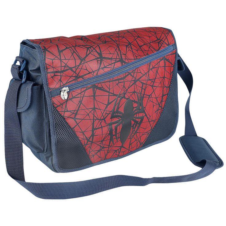 """Borsa a tracolla """"Spider's Web"""" di #Spiderman."""