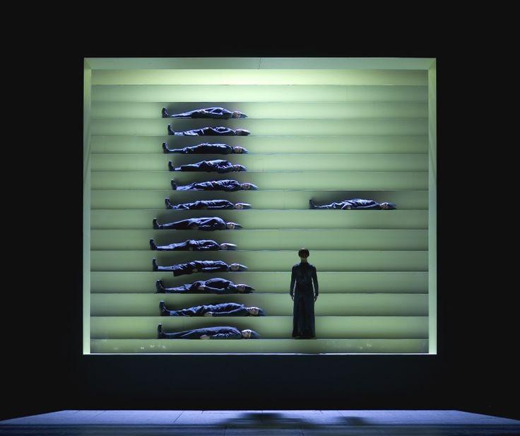 Orfeo, Hotel pro Forma  Stage design: Maja Ravn.   Light design: Jesper Kongshaug #pile #line