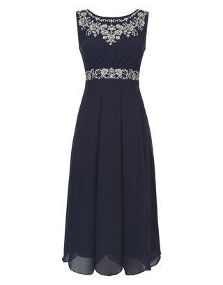 Acacia Dress | Navy | Monsoon