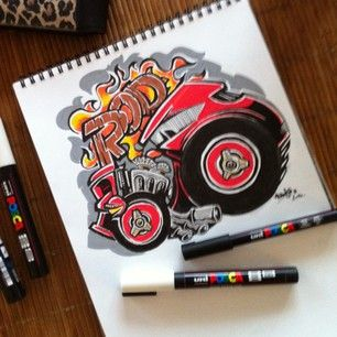 185 best POSCA COLORING images on Pinterest | Coloring, Art and Murals