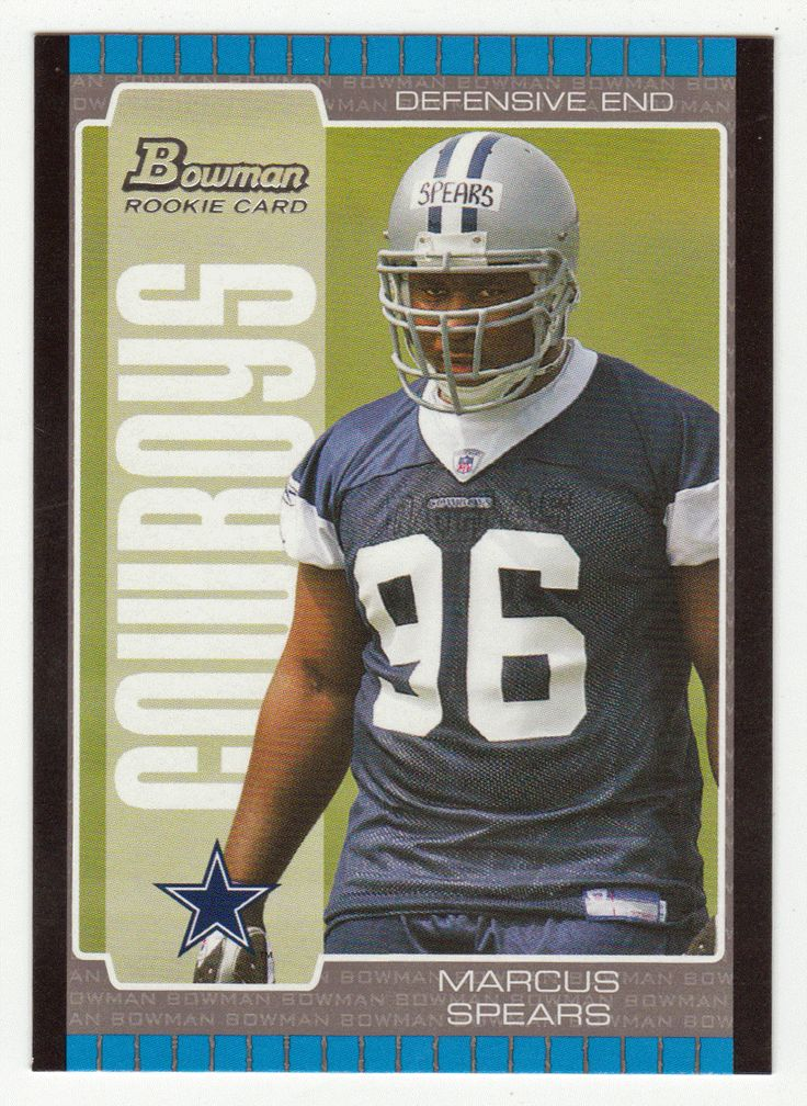 Marcus Spears RC # 133 - 2005 Bowman Football NFL Rookie
