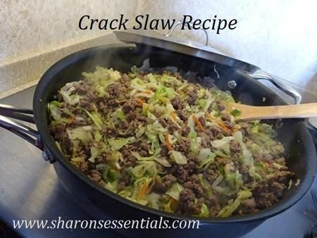 Crack Slaw Recipe Sharon's Essentials Health and Wellness