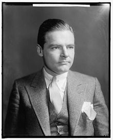 Henry Cabot Lodge, Jr (1902-1985)  Republican Senator, U.S.Ambassador, and the 1960 VP nominee.  My cousin.