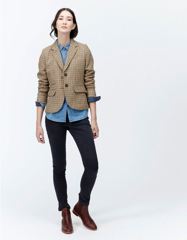 The Joules Journal | How To Wear: Tweed