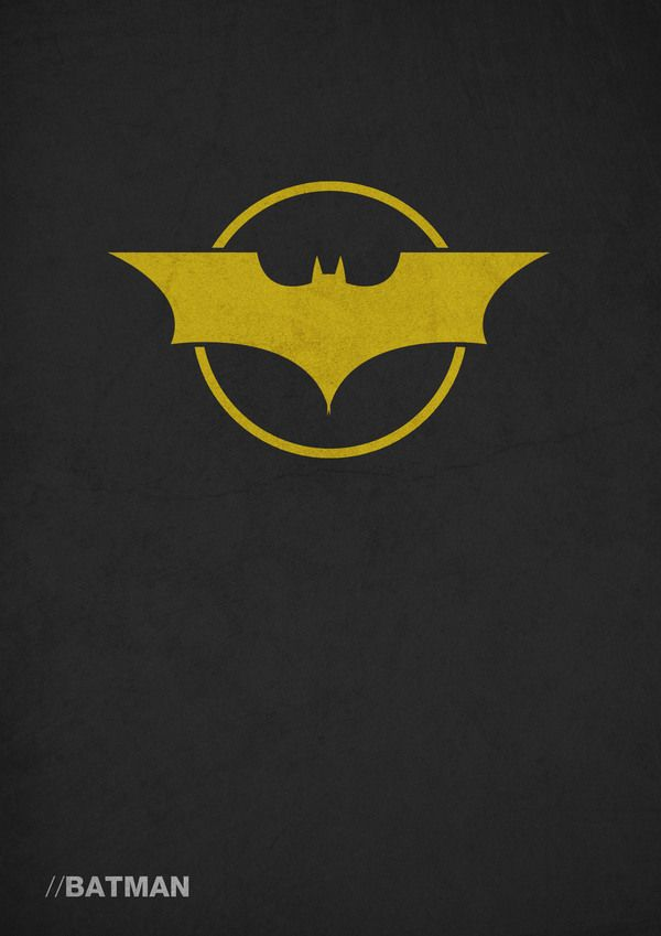 Heroes & Villains Poster Designs by Joshua Hurst, via Behance