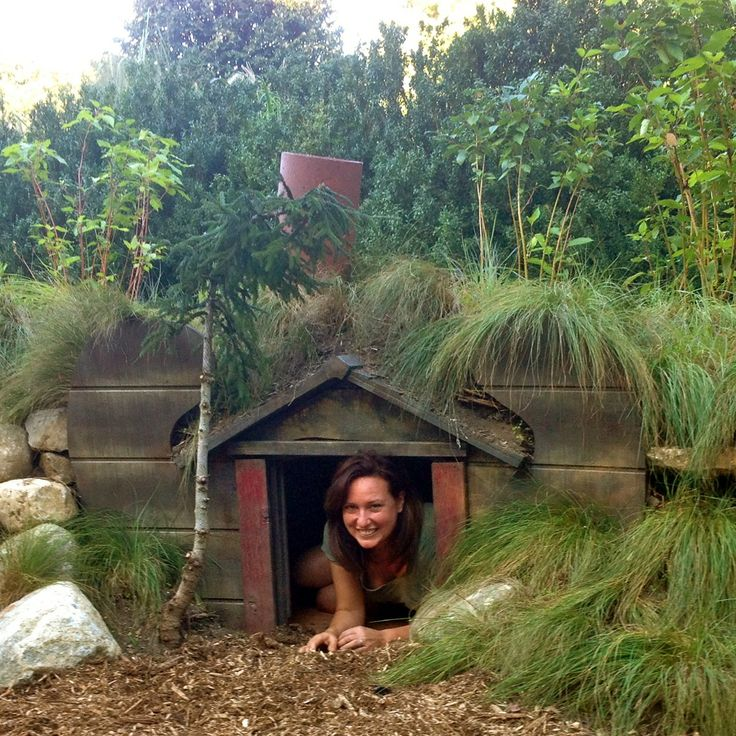 Now that you've seen the movie, why not make a Hobbit house in your own backyard?