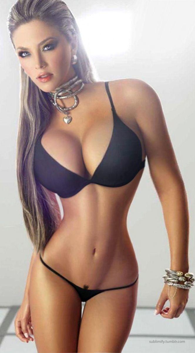 big boobs Fitness Model Let's enjoy the beautiful woman photo.