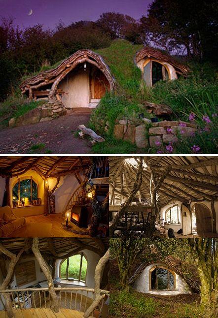 pembrokeshire wales hobbit house - Google Search