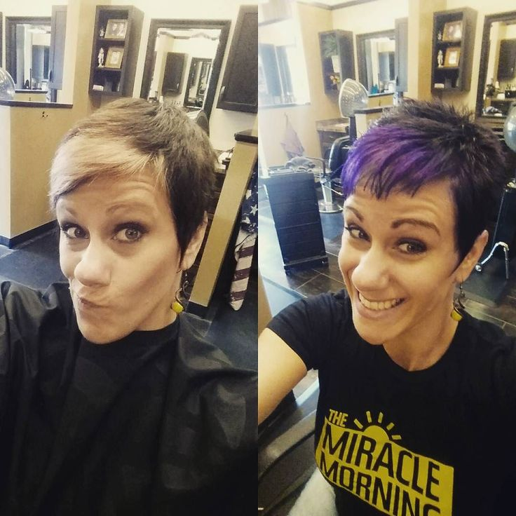 From #faded to #fabulous! #purplehair #dontcare <3