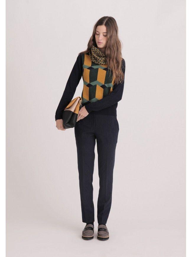 #Jersey manga larga estampado de Nice Things #Fashion #Moda