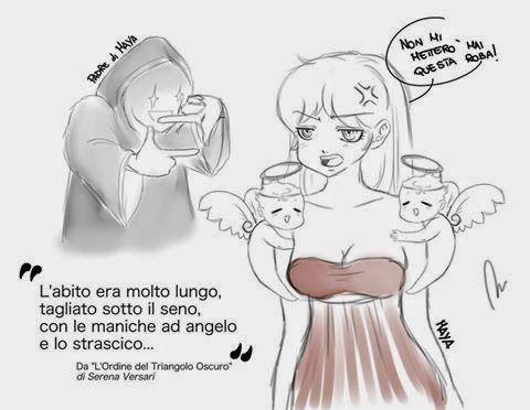 Serena Versari: Vignette comiche L'ORDINE DEL TRIANGOLO OSCURO