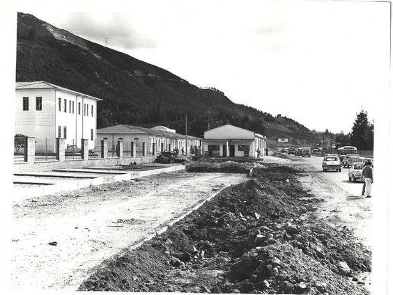 Así era Bogotá hace más de 50 años! - Colombia me gusta - Ampliación de la carrera 7. Al fondo la calle 100 de Bogotá