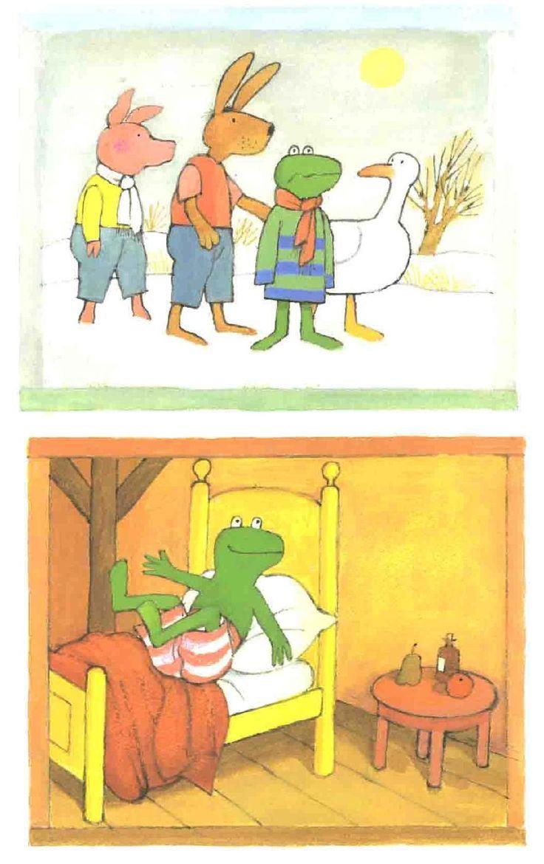 * Praatplaten: Kikker in de kou! 9-9
