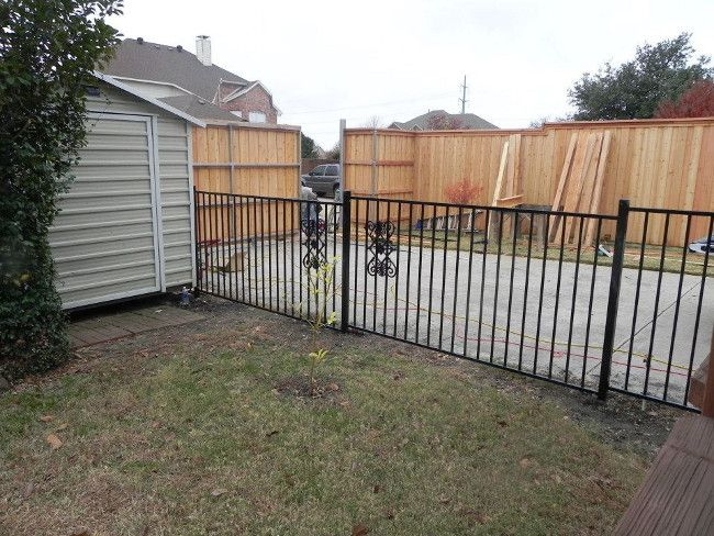Custom Iron Fencing Work By Longhorn Arbor And Fence