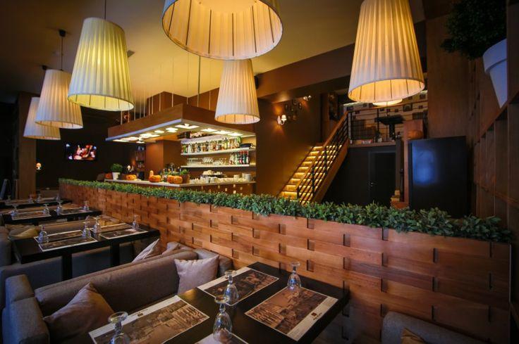 Ресторан Bona Capona от студии Oneione