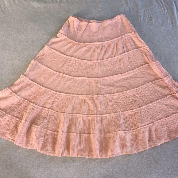 EUC Naf Naf Summer Skirt sz 36 or M Adorable summer skirt by French label Naf Naf.  Euro size 36 or US M. Naf Naf Skirts Midi