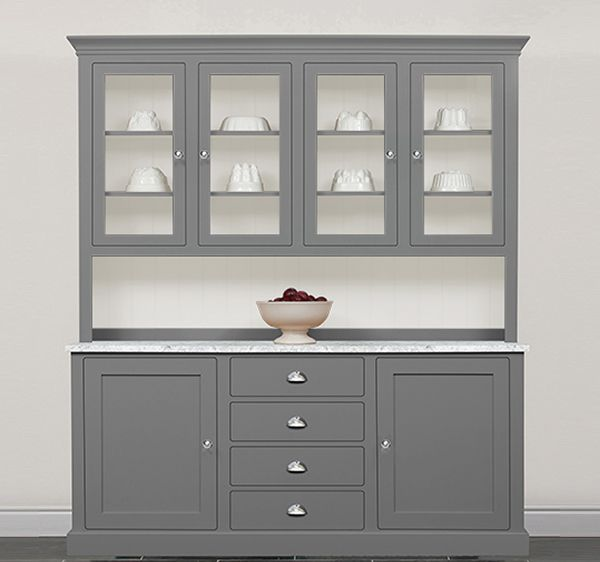 Kitchen Dresser edmunds painted kitchen dresser solid wood painted made to measure dressers pine shop bury Painted Kitchen Dressers The Kitchen Dresser Company