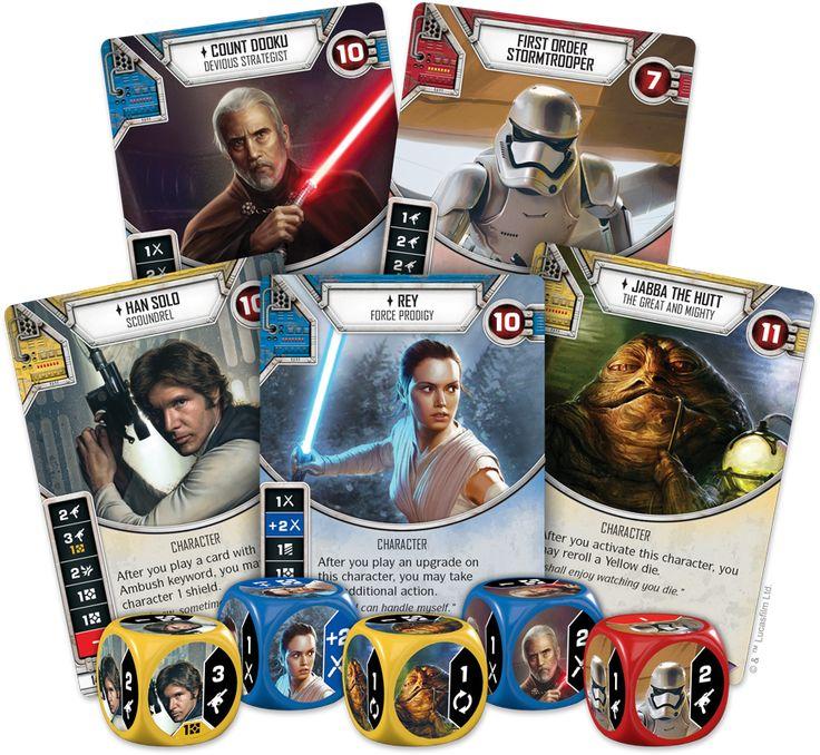 Nadchodzi Star Wars: Destiny – kolekcjonerska gra karciana od FFG