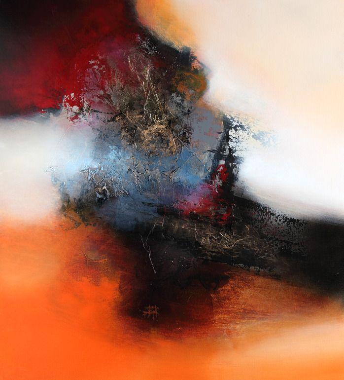 Saatchi Online Artist: Eelco Maan; Acrylic, 2012, Painting Arrival of autumn❤YmM❤