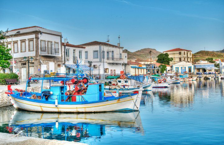 Limnos Greek Ferry guide - DANAE Greek Travel Services Online