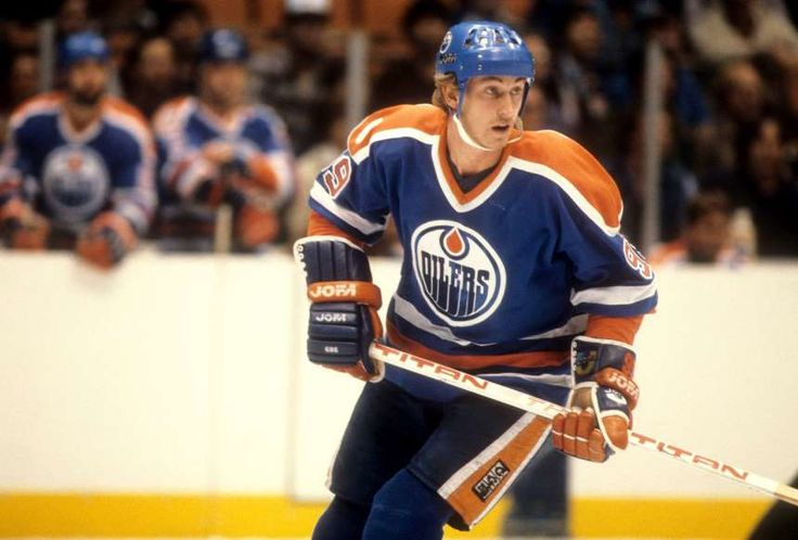 100th anniversary of the NHL - November 20, 2017:  Wayne 'The Great One' Gretzky -  Considered the greatest player ever, Wayne Gretzky played 20 seasons in the NHL for four teams after briefly playing in the World Hockey Association. He led the Edmonton Oilers to four Stanley Cups in the 1980s. Gretzky holds or shares 61 NHL records, the most for any player. His most impressive record is for 2,856 points (894 goals, 1,962 assists).