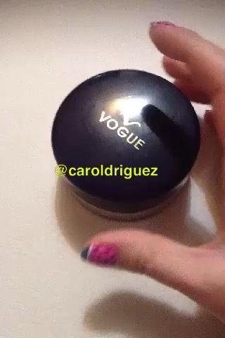 Polvos Vogue @caroldriguez #caroldriguez