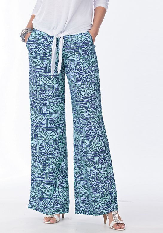 Breezy Batik Pant