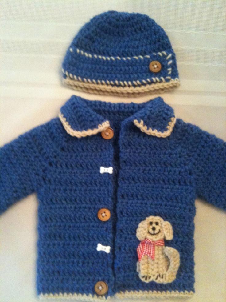 """puppy sweater"" #crochet"