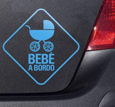 Bebe a bordo #vinilos #vinilosdecorativos #vinilospersonalizados #vinilosadhesivos #coche #tuning #hondatuning