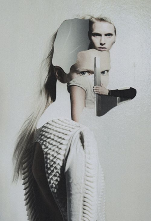 bits + pieces | bree smith ph. by anna cone for creem mag | collage by jesse draxler