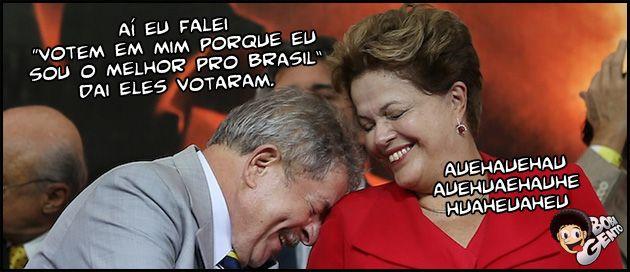 Dilma e Lula Coleção Dilma Roussef falando abobrinhas em público