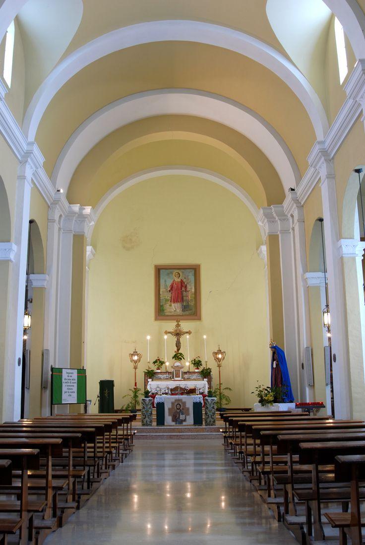 Chiesa di S Lorenzo Silvestro e Ruffino interno #marcafermana #massafermana #fermo #marche