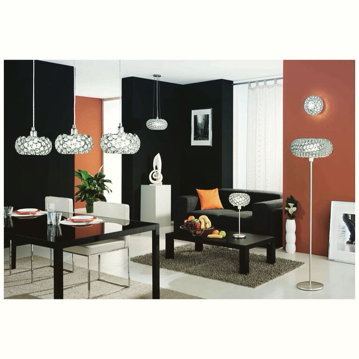 Eglo Lighting-Rebell Collection Aluminum Finish Hanging Lights, pendant, wall light, table & floor lamps
