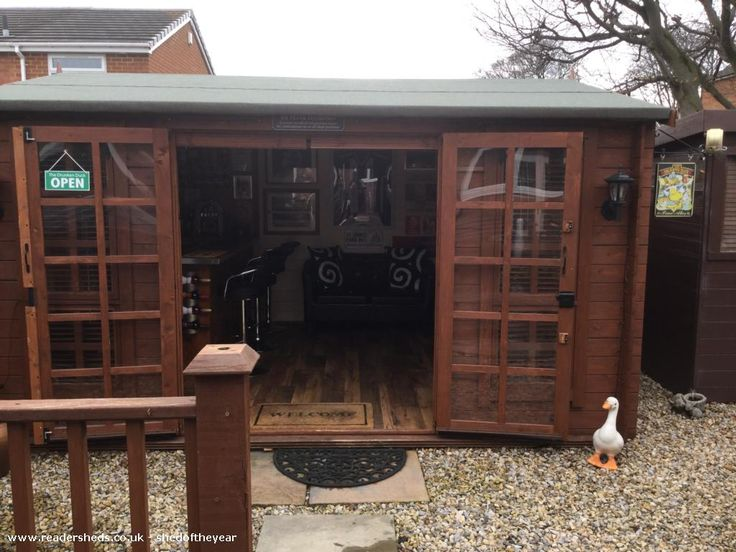 pubentertainment from garden owned by frankie susan shedoftheyear