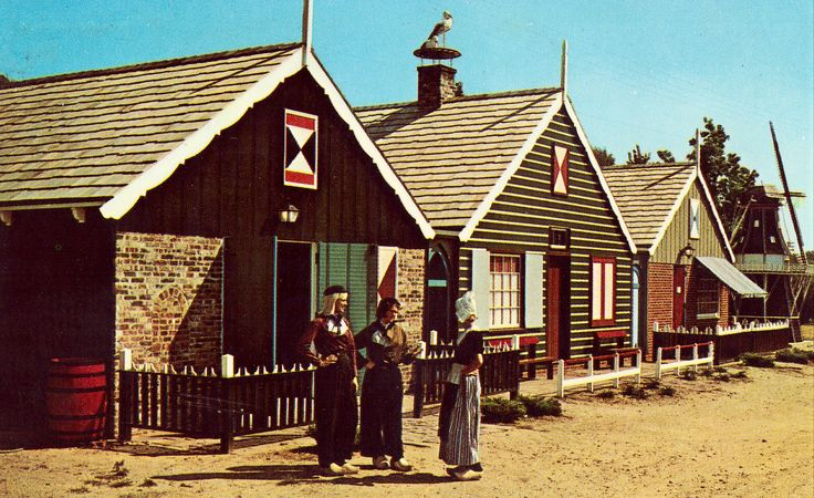Little Netherlands,Windmill Island - Holland,Michigan