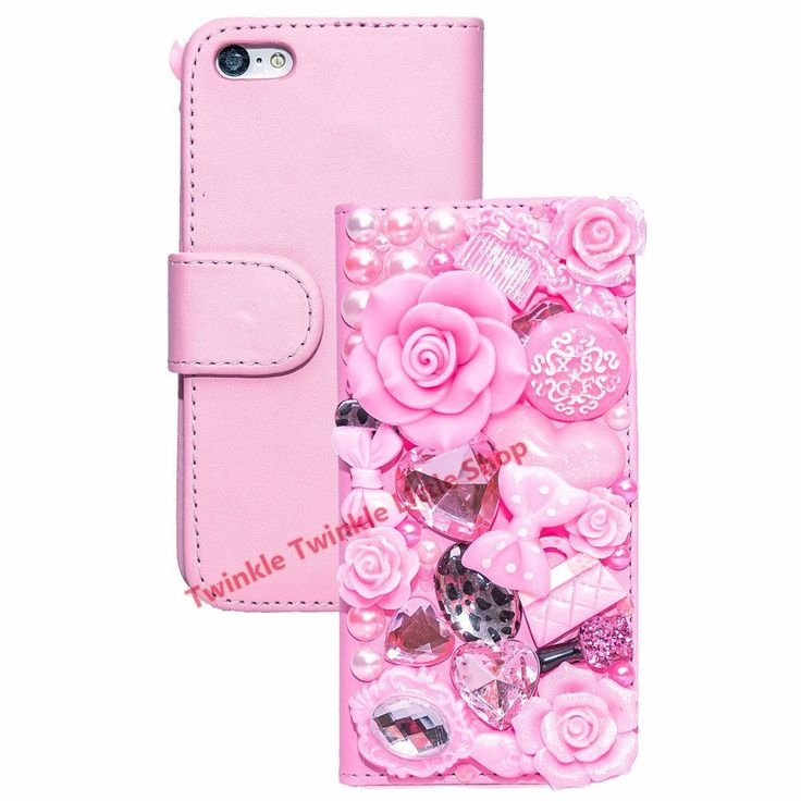 Handmade fashionable 3D diamond wallet flip leather phone cases for iphone rhinestone crystal 3D case for iPhone for iphone 7 //Price: $8.96//     #storecharger